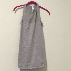 Lululemon Athletica Grey Cutout Tank Top 6